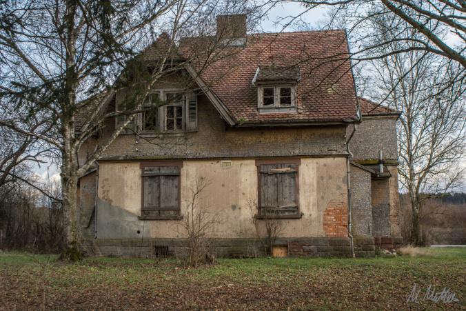 Das vergessene Doppelhaus  (Lost Place)