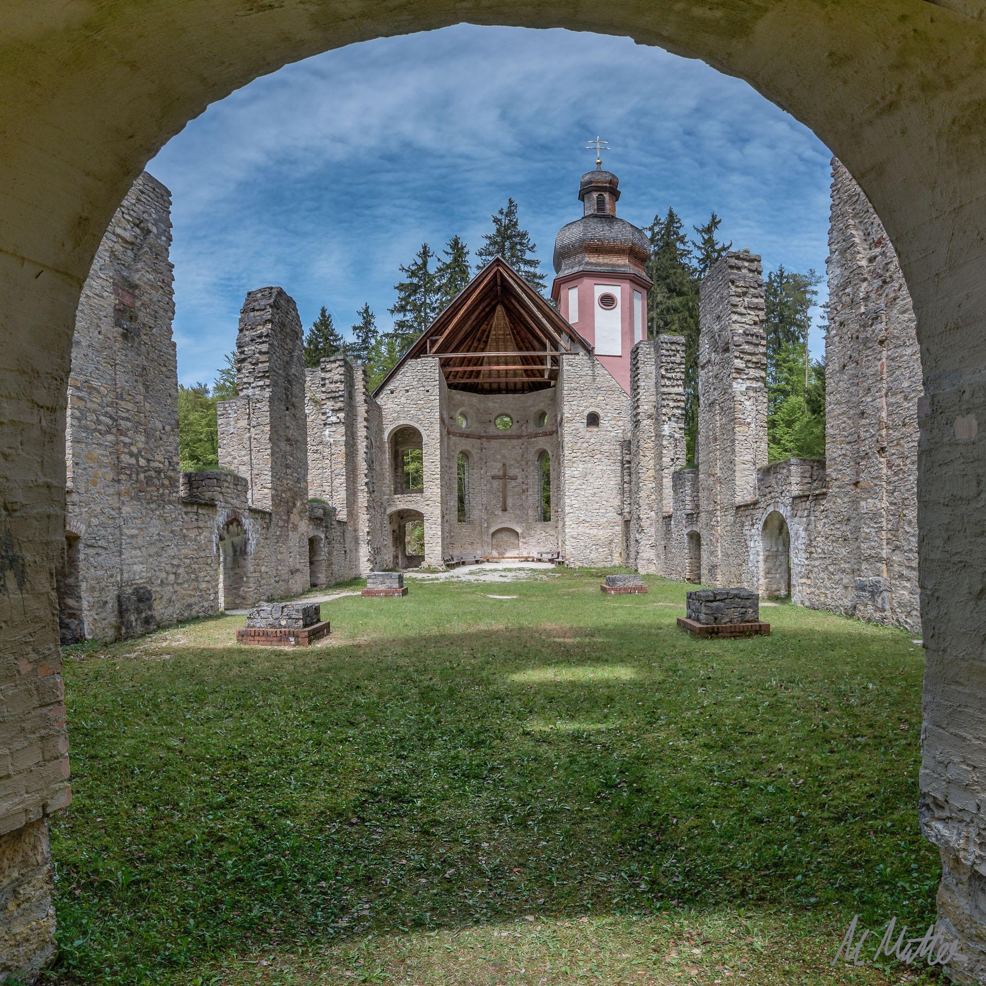 """Die Kirchenruine """"Maria Hilf"""""""